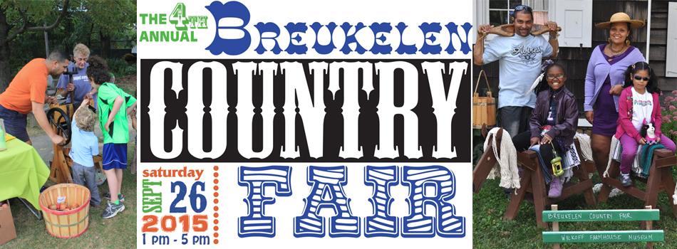 Banner image for the 4th Annual Breukelen Country Fair, September 26, 2015