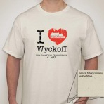 I Heart Wyckoff – Natural Men's T-shirt
