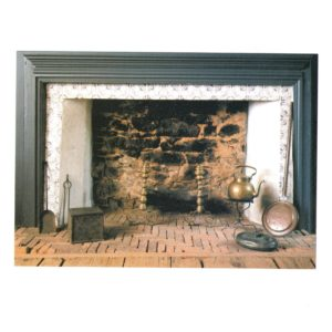 Front image of Hearth Postcard