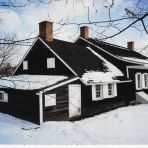Postcard – Wyckoff House in Winter