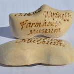 Wooden Shoe Magnet