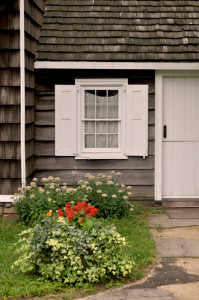 Entrance to the original Wyckoff cottage, now referred to as the Old Kitchen, c. 1652