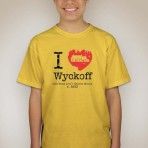 I Heart Wyckoff – Yellow Youth T-shirt